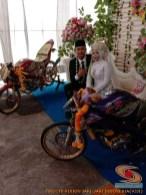 Motor-motor vijar yang jadi saksi di pelaminan dan pernikahan (24)