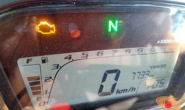 lampu check engine menyala pada Honda CRF250Rally, begini solusi altenatifnya brosis