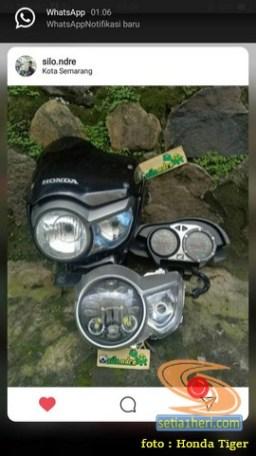 Modifikasi headlamp Honda Tiger Revo pakai Daymaker (7)