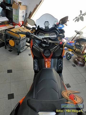 Modifikasi mewah Yamaha XMAX asal Medan brosis (3)