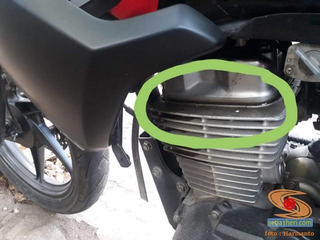 Solusi Packing head rembes oli pada Honda New Megapro