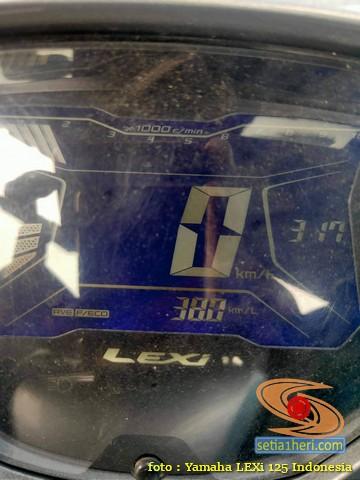 Yamaha Lexi oprek pakai roller Xeon per CVT Vario 125, kok boros ya?