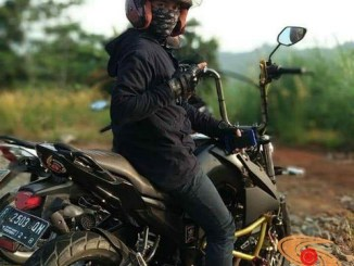 Modif Yamaha byson pakai stang tinggi brosis. (1)