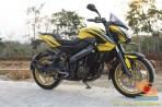 Modifikasi velg warna emas pada Kawasaki Bajaj Pulsar 200 NS (12)