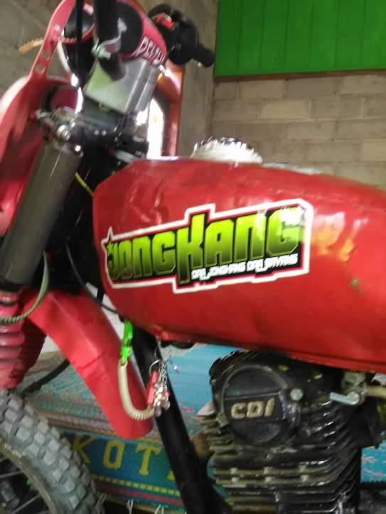 tangki motor trail inspirasi