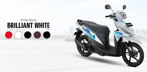 daftar warna baru Suzuki Address FI tahun 2020