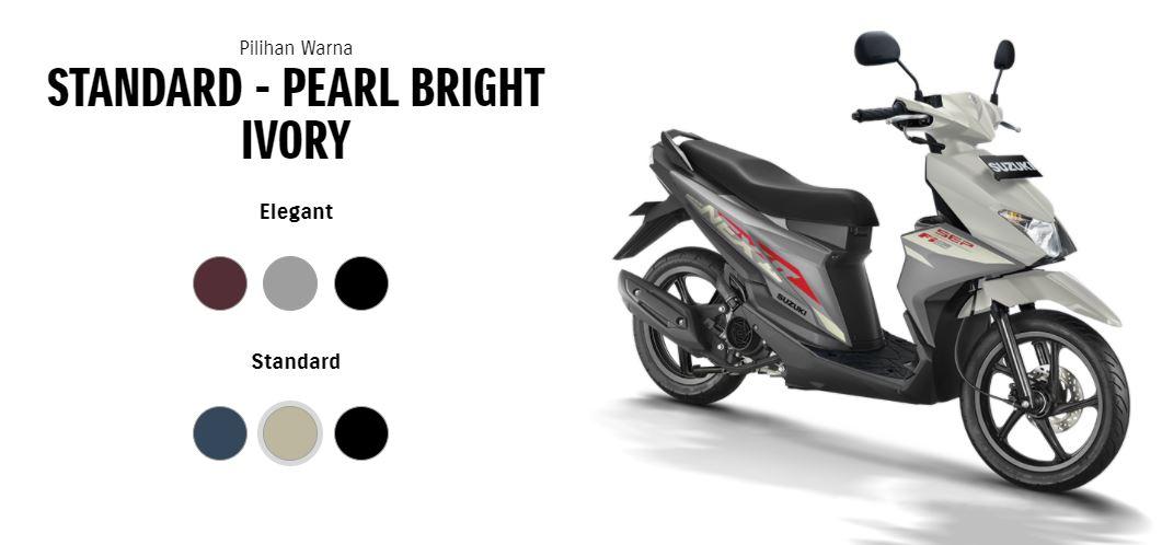 pilihan warna baru Suzuki NEX II tahun 2020