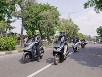 HPCI Sidoarjo gelar PCX Luxurious Ride tahun 2020 (1)