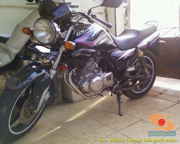 Kelebihan dan kekurangan plus minus Suzuki Thunder 250 tahun 2002 (1)