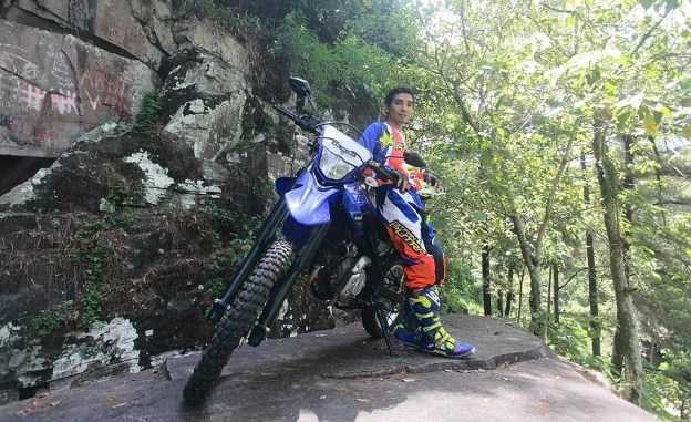 Performa motor trail Yamaha WR 155 R menurut Dzakir, si Raja Tanjakan asal Ngawi
