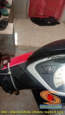 Solusi kreatif atasi batok geter punya Honda Supra bapack gans (1)