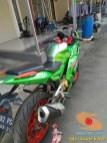 Modif Bajaj Pulsar 180 ug 4 jadi full fairing plus glowing asal Bekasi (6)