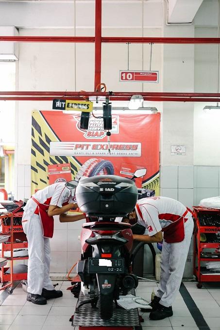Spesial Promo Januari, 3 Paket Perawatan Motor Matic di AHASS MPM Motor (1)