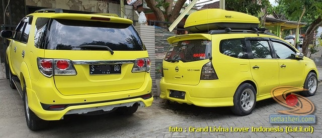 Testimoni kenyamanan Nissan Grand Livina dan Toyota Fortuner