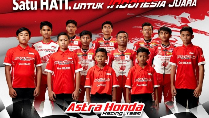 Daftar 12 pebalap Astra Honda Racing Team (AHRT) tahun 2021, siap laga di tingkat dunia