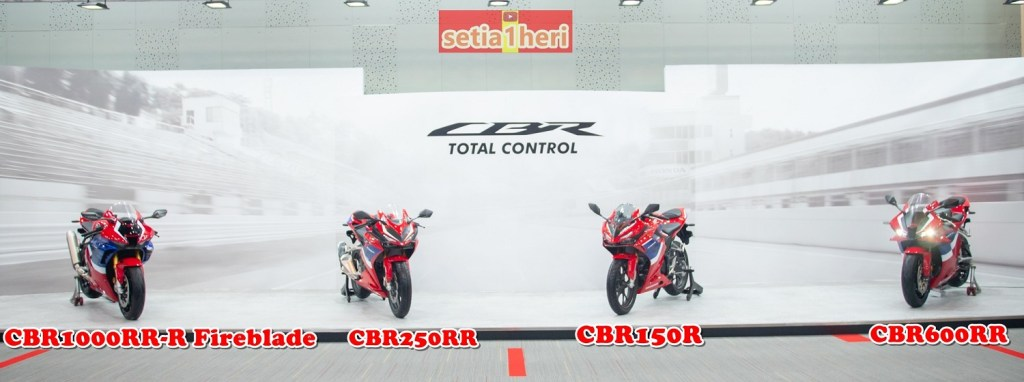 Honda CBR Tricolor tahun 2021