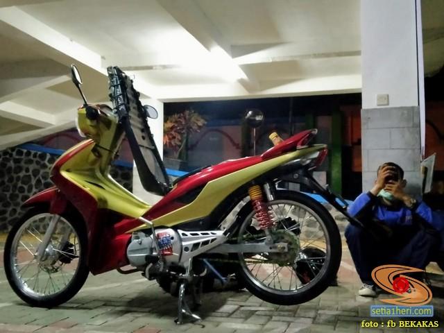 Suka duka miara bebek matik Honda Revo AT (2)