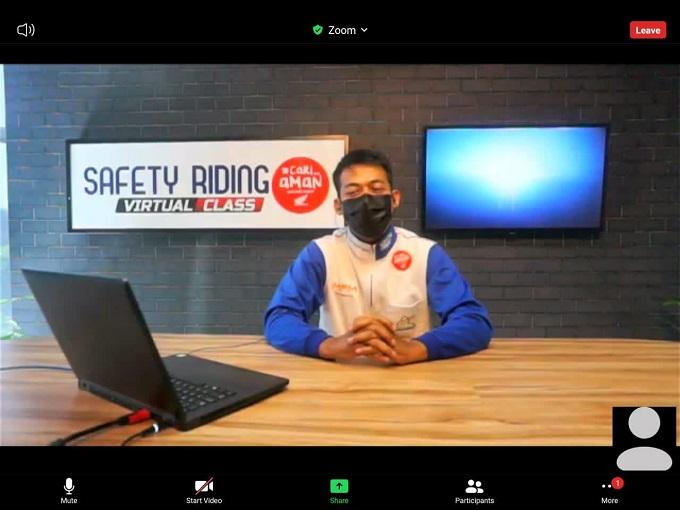 Kampanye Cari_Aman, MPM Honda Jatim Edukasi Online Sekolah dan Perusahaan (2)