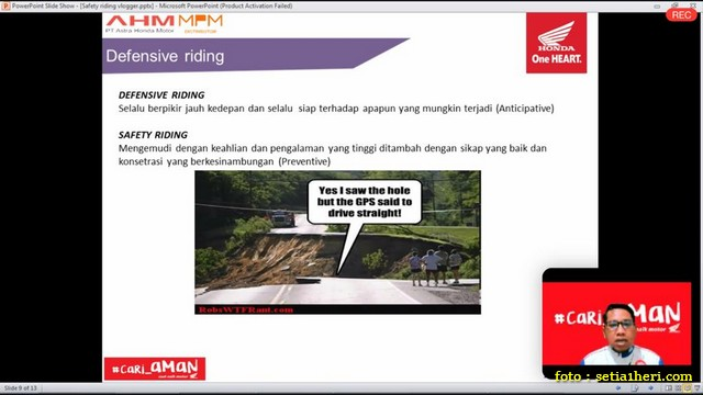 Mengenal posisi berkendara yang aman dan nyaman bagi biker brosis.. (5)