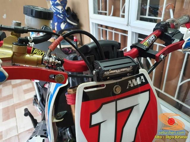 Modif mini supermoto YCF Daytona Anima basis mesin Ninja RR Superkips (15)