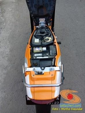Restorasi dan modif Suzuki Satria RU Alias Satria Lumba Tahun 2003 (4)