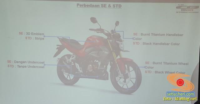 beda cb150r 2021 warna standar dan spesial edition