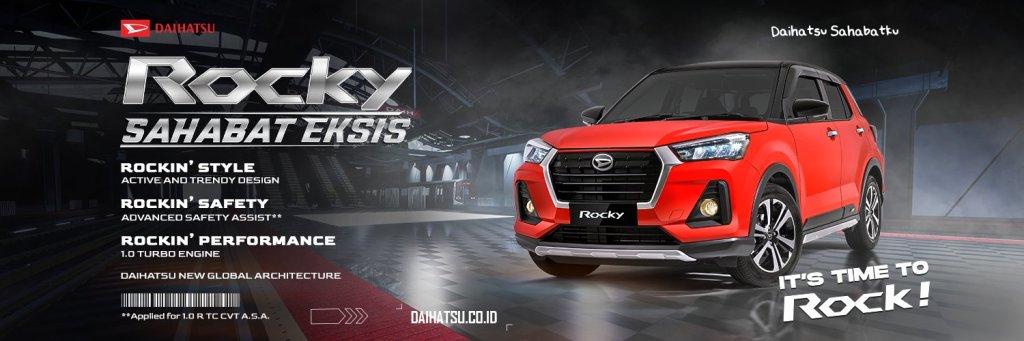 Gambar detail, daftar harga dan pilihan warna Daihatsu Rocky 2021