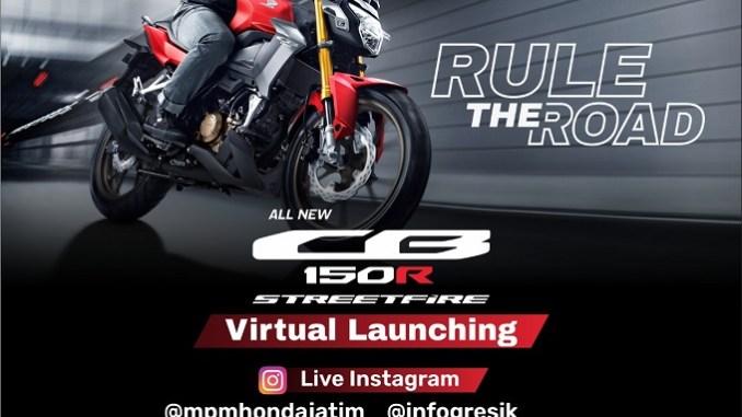 Honda CB150R StreetFire 2021 siap Di Launching Di Jatim dan NTT, ada pameran virtual gans.. (1)