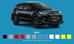 Pilihan warna Toyota Raize 2021