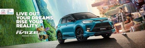 Toyota Raize tahun 2021