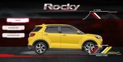 pilihan warna kuning daihatsu rocky tahun 2021