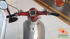 Lebih dekat dengan motor bebek lawas Honda super cub C70 alias si pitung (5)