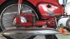 Lebih dekat dengan motor bebek lawas Honda super cub C70 alias si pitung (7)