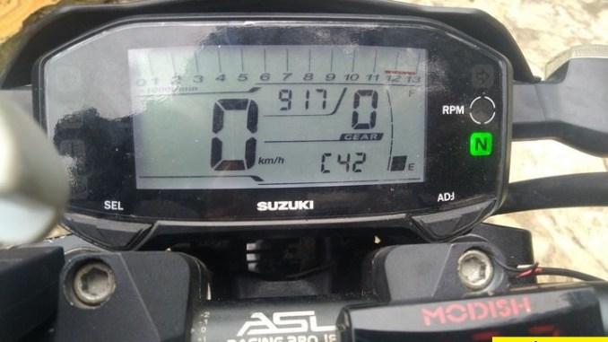 Cara mengatasi kode error C42 di Suzuki GSX R150