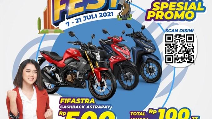 MPM Honda Jatim dan FIF Group gelar Pameran Virtual Honda 2021, banyak promonya gans.. (2)
