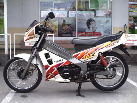 Mengenal ayago 2 tak Yamaha ZR120 asal Thailand