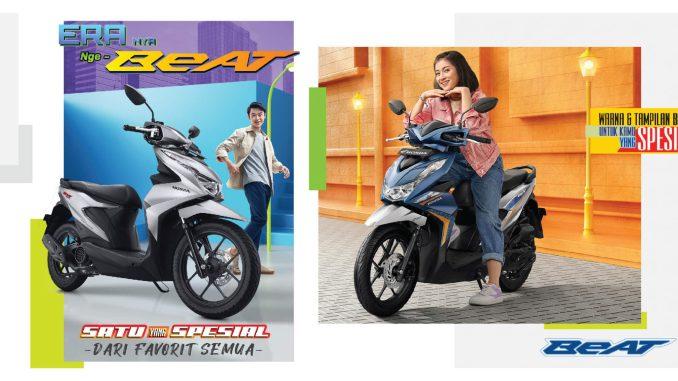 Pilihan warna baru All New Honda BeAT dan All New Honda BeAT Street tahun 2021