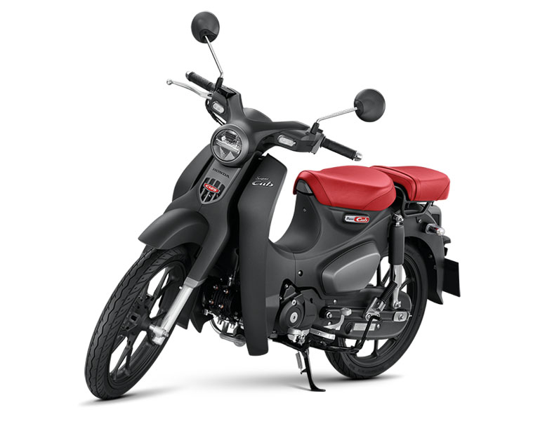 Matte Axis Gray Metallic, Warna baru Honda Super Cub C125 tahun 2021