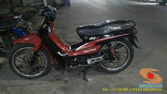 Motor bebek 2 tak antara Yamaha Alfa dan Suzuki RC100 Bravo, pilih mana