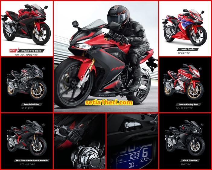 Perbedaan dan sejarah Honda CBR250RR, CBR250RR SP dan CBR250RR SP Quick Shifter
