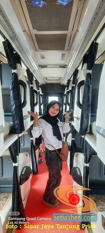 Tarif Bus Sleeper Sinar Jaya tujuan Jakarta - Madura (3)