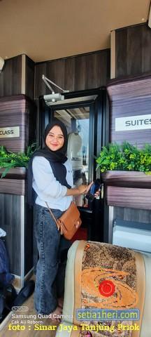 Tarif Bus Suites Class Sinar Jaya tujuan Jakarta - Madura (1)
