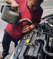 Mbah Tarno overheat lagi sekaligus mengobrol seputar air jeding dan water coolant untuk air radiator mobil (3)
