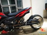 Modifikasi Honda CS1 pakai arm panjang asal Nganjuk, gokil gans.. (8)