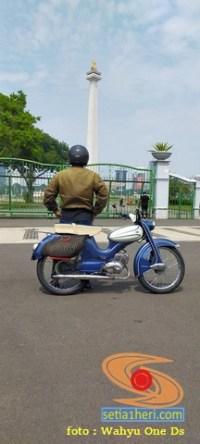 Restorasi motor antik dan unik DKW Hummel Super tahun 1960 asal Jakarta (5)