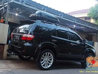 Pengalaman warganet bawa roofbox hapro roady di Toyota Fortuner full muatan gans...