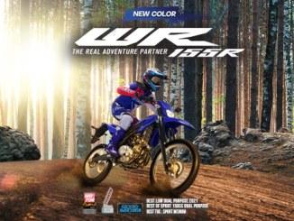 Warna dan grafis baru Yamaha WR 155 R tahun 2021
