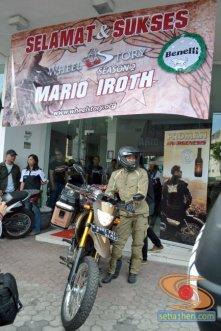 mario iroth with benelli phyton