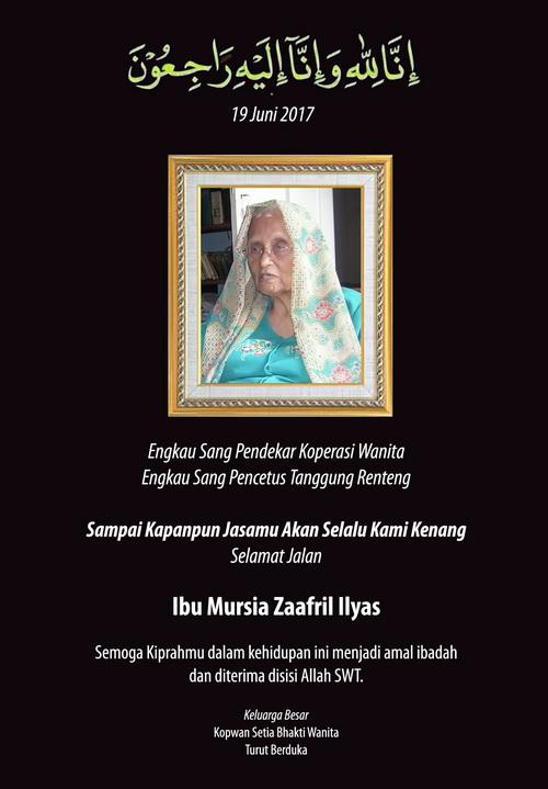 Mursia Zaafrril Ilyas