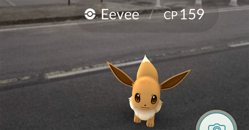 Mudando o nome do Eevee é possível controlar omo será a evolução dele